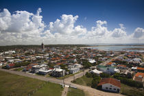 High angle view of a town, La Paloma, Rocha Department, Uruguay by Panoramic Images