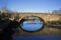 Single Span Bridge of the Colligan River von Panoramic Images