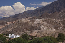 Building on a hill, El Carmen, Calchaqui Valleys, Salta Province, Argentina by Panoramic Images