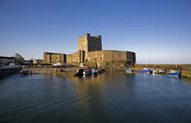 Carrickfergus Castle(1177) and Harbour, County Antrim, Ireland by Panoramic Images