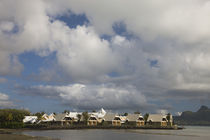 Buildings at the waterfront, Le Preskil Beach Resort, Mahebourg, Mauritius by Panoramic Images