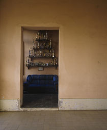 Collection of trophies in a room, Diamantina, Minas Gerais, Brazil von Panoramic Images