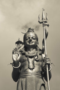 Statue of Lord Shiva the Hindu God von Panoramic Images