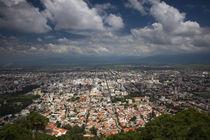 Aerial view of a city, Cerro San Bernardo, Salta, Argentina by Panoramic Images