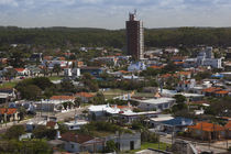 Buildings in a town, La Paloma, Rocha Department, Uruguay by Panoramic Images