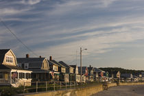 Beach houses, Long Beach, Rockport, Cape Ann, Massachusetts, USA by Panoramic Images