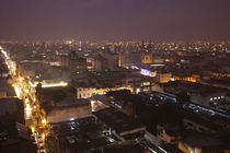 City lit up at dusk, Salta, Argentina von Panoramic Images