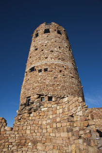 Low angle view of a lookout tower, Grand Canyon National Park, Arizona, USA by Panoramic Images