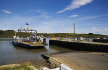 Ferry over Waterford Harbour by Panoramic Images