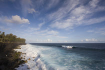 Waves on the beach, Le Souffleur d'Arbonne, Le Baril, Reunion Island by Panoramic Images