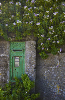 Postbox at Boatstrand, Copper Coast, County Waterford, Ireland by Panoramic Images