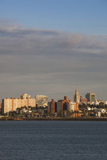 Buildings at the waterfront, Montevideo, Uruguay by Panoramic Images