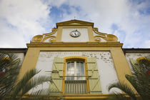 Low angle view of a town hall, St. Pierre, Reunion Island by Panoramic Images