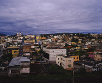High angle view of a city, Congonhas, Minas Gerais, Brazil by Panoramic Images