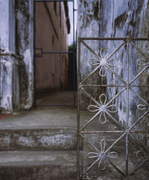 Close-up of a gate, Salvador, Brazil by Panoramic Images