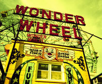 Entrance to the Wonder Wheel by Panoramic Images