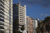 Apartments in a city, Playa Pocitos, Pocitos, Montevideo, Uruguay by Panoramic Images