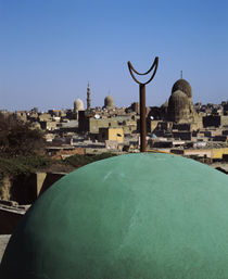 Dome of a mosque, Cairo, Egypt von Panoramic Images