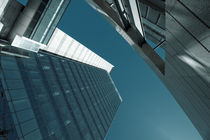 Low angle view of communications building, Torre Antel, Montevideo, Uruguay by Panoramic Images