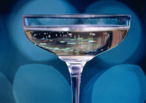 Close-up of a glass of white wine by Panoramic Images