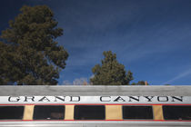 Grand Canyon tourist train car by Panoramic Images