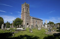 Duncormick Church, County Wexford, Ireland von Panoramic Images
