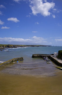 Boatstrand Harbour, The Copper Coast, County Waterford, Ireland by Panoramic Images