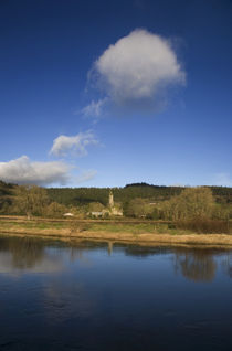 Mocollop Castle on the Banks of the Blackwater River by Panoramic Images