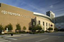 Facade of a sports center, Toyota Center, Houston, Texas, USA by Panoramic Images