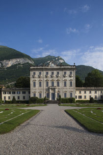 Facade of a building, Villa La Quiete, Tremezzo, Lakes Region, Lombardy, Italy by Panoramic Images