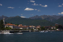 Town at the waterfront by Panoramic Images