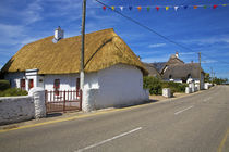 Traditional Thatched Cottage, Kilmore Quay, County Wexford, Ireland by Panoramic Images