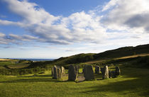 Drombeg Stone Circle, Near Glandore, County Cork, Ireland by Panoramic Images