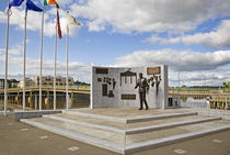 Sculpture to John F Kennedy by Anne Meldon Hugh by Panoramic Images