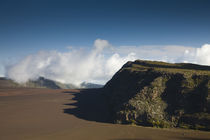 Ash plain of a volcano, Piton de la Fournaise, Plaine des Sables, Reunion Island by Panoramic Images