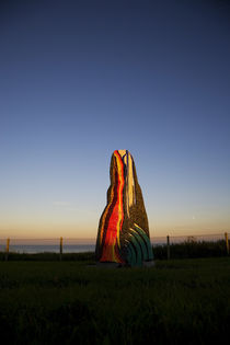 Contemporary Sculpture, Boatstrand, The Copper Coast, County Waterford, Ireland by Panoramic Images