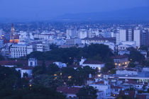 High angle view of a cityscape, Salta, Argentina by Panoramic Images