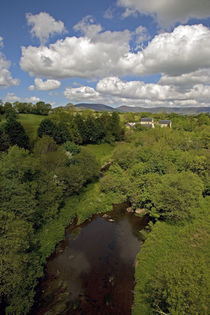 View from Railway Viaduct, Near Stradbally, County Waterford, Ireland by Panoramic Images
