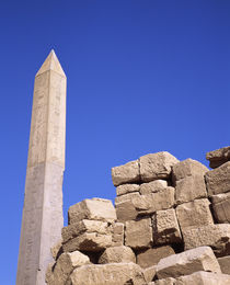 Low angle view of an obelisk, Egypt by Panoramic Images