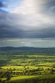 Pastoral Fields, Near Clonnee, County Waterford, Ireland by Panoramic Images