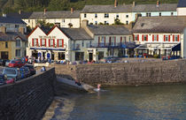 The Strand Inn and Cove, Dunmore East, County Waterford, Ireland by Panoramic Images