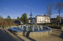 Fountain in the Millennium Garden, Lismore, County Waterford, Ireland by Panoramic Images