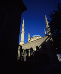 Low angle view of a mosque by Panoramic Images