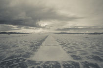 Clouds over a salt flat, Salinas Grandes, Jujuy Province, Argentina by Panoramic Images