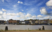 Waterford City Skyline from the North Bank of the River Suir by Panoramic Images