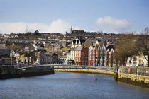 Kneeling Canoe, River Lee, Cork City, Ireland by Panoramic Images