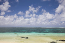 Clouds over the sea, Belle Mare, Mauritius by Panoramic Images