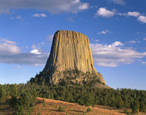 USA, Wyoming, Devil's Tower National Monument by Panoramic Images