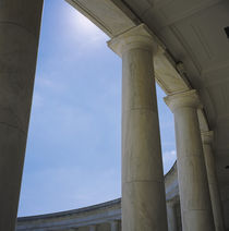 Columns at an amphitheater by Panoramic Images