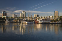 City at the waterfront by Panoramic Images